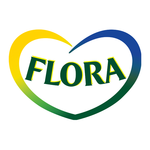 logotipo flora