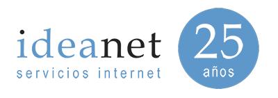 logotipo ideanet aniversario